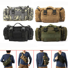 Tactical Military Waist Pack Shoulder Bag Molle Outdoor Camping Hiking Pouch Bag