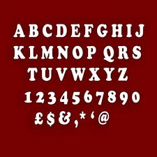 5cm Shatterproof Acrylic ALPHABET LETTER Mirror (A-Z) **Make your own NAME**