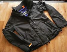 Womens Superdry The Windcheater Japan Jacket Black,Purple Mesh Lined size L