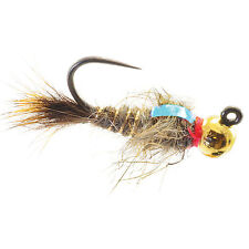 Umpqua Jigged Hare's Ear Tungsten Gold Bead   Fly Fishing Multi-packs