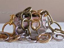 "Small 1"" Carabiners For Miche Bags; Antique Brass, Gold, Silver; Buy 4 or 1"