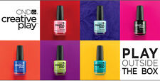GENUINE CND CREATIVE PLAY NAIL POLISH LACQUER ALL COLOURS 13.6ML - COLLECTION 1