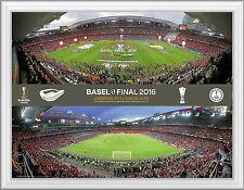 Europa League Final 2016 Sevilla v Liverpool Official Framed UEFA Photo Range