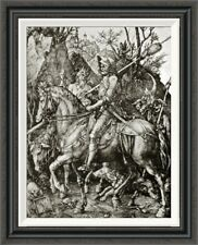 'Knight Death and the Devil' by Albrecht Durer Framed Painting Print