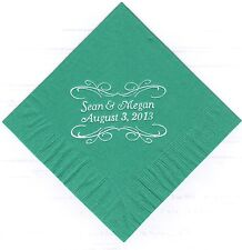 PITA SCROLL LOGO 50 Personalized printed LUNCHEON DINNER napkins