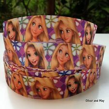 """Rapunzel Grosgrain Ribbons 22mm 7/8"""" OR 25mm 1"""" Variety of Designs Available"""