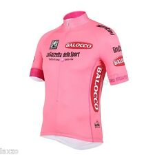 Santini Giro D'italia Pink Leaders team cycling Jersey Maglia Rosa ORGINAL