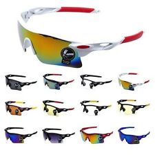UV400 Outdoor Sport Cycling Bicycle Bike Riding Sun Glasses Eyewear Lens