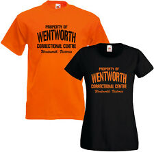 Property Of Wentworth Prison Mens Womens Ladyfit T Shirt Tee Bea Franky Doreen