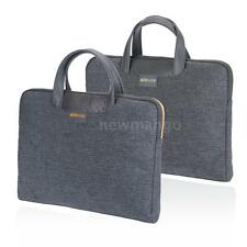 "Men Portable Briefcase Carrying Sleeve Bag Handbag 14"" for Laptop MacBook R9C1"