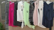 NWT Vince Camuto Sleeveless Blouses