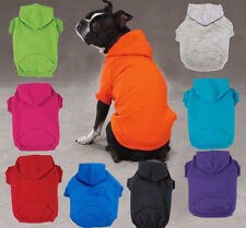 ZACK & ZOEY HOODIE, Different Colors & Sizes. Basic Dog Puppy Sweater  Free Ship