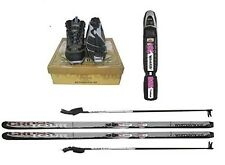 New Whitewoods Adult NNN Cross Country Package Skis Boots Bindings Poles 177cm