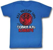 Karate Kid Movie Cobra Kai Karate Symbol Licensed Adult Shirt S-XXL