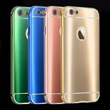 Luxury Aluminum Mirroshape Metal Bumper Phone Case Cover For iPhone 6S 6 Plus 5S