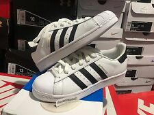 Adidas Superstar Black White GS Youth Sizes