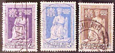 IRELAND stamps Scott #142-#144 used Set of 3 ST. PETER 1950