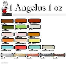 Angelus Acrylic 1x 1oz Paint Dye Leather Metallic Vinyl for Sneaker Boot Jacket