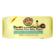 Earths Best Baby Wipes, Chlorine Free, Unscented, Resealable Travel Pack