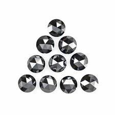 3mm to 6mm Natural Black Diamond Rose Cut Calibrated Size Loose Diamonds