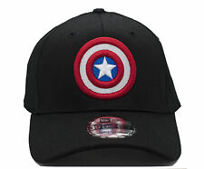 NEW - CAPTAIN AMERICA #NE1000 New Era Fitted Baseball Hat - Free Shipping!!