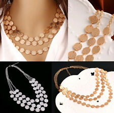Bib Hot Choker Chain Necklace Charm Jewelry Statement Pendant Chunky