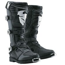 NEW THOR MX RATCHET MOTOCROSS DIRTBIKE OFFROAD BOOTS BLACK BLK ALL SIZES