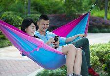 Hot Ultralight Outdoor Camping with Parachute Cloth Hammock Swing Hanging Chair