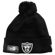 New Era Cap Co Glow Cuff Beanie - Oakland Raiders