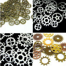 65pcs 100g Jewelry Ship Watch Parts Art Craft DIY Steampunk Bronze Gears Cogs