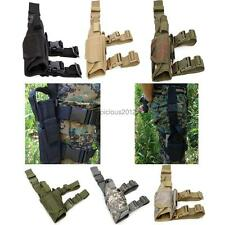 Airsoft Adjustable Tactical Army Pistol Gun Drop Leg Thigh Holster Pouch Holder