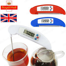 Digital Folding Probe Thermometer Food Temperature Kitchen Cooking Meat BBQ Jam