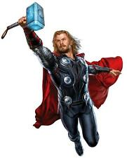 THOR HAMMER ATTACK Avengers Decal Removable WALL STICKER Home Decor Art Movie
