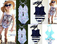 Toddler  Baby Girls Swimsuit  Swimwear  Kids  Bathing Suit  Bikini  Beachwear