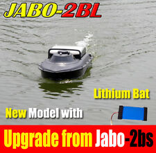 Newest JABO-2BS Upgrade to JABO-2BL Lipo battery Bait Sonar Fish Finder Boat