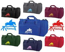 PERSONALISED PRINTED HOLDALL WITH HORSE DESIGN -bag pony boot Riding -  HO7