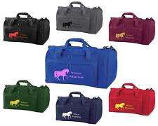PERSONALISED PRINTED HOLDALL WITH HORSE DESIGN -bag pony boot Riding -  HO2