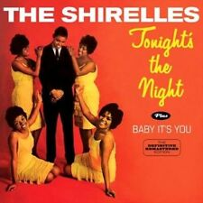 Tonight's the Night & Baby It's You - Shirelles New & Sealed CD-JEWEL CASE Free