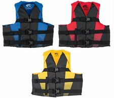 Bass Pro Shops Nylon Dual Sized Recreational Life Jacket Vest PFD ()
