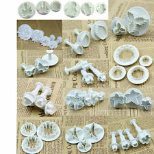 Fondant Cake Mold Plungers Sugarcraft Cookies Paste Cutter Decorating Tools Set