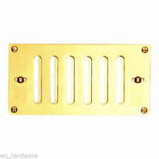 Hit & Miss Vent Air Ventilation Grille Wall Air Vent in Brass , Chrome