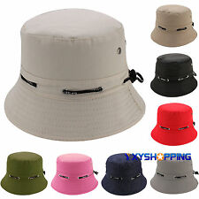Unisex Summer Bucket Hat Hunting Fishing Outdoor Foldable Boonie Cap Sun Visor