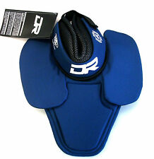 New DR hockey medium goalie neck guard BNQ certified protector blue ice throat