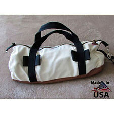 Deluxe Round Canvas Tool Bag