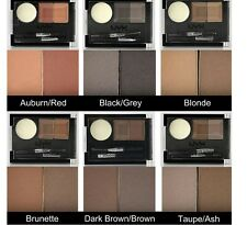 NYX EYEBROW CAKE POWDER KIT Black Brown Taupe Ash Auburn Brunette Blonde ECP NEW