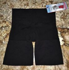 ASSETS SPANX Focused Firmers Black Ultra Control Mid Thigh Slimmer Womens L XL