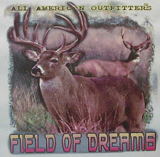 ALL AMERICAN OUTFITTERS FIELD OF DREAMS BUCK HUNTING DEER HUNTER SHIRT #414
