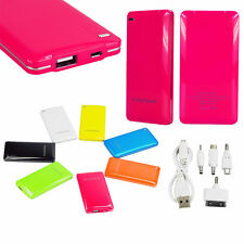 Portable Universal 6000mAh USB External Battery Power Bank Pack Charger Phone