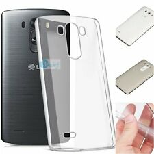 0.2mm ULTRA THIN CLEAR Rubber Gel Soft Back Cover Case Skin For LG Phone Series