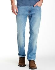7 For All Mankind Men's Standard Straight Leg Jeans Colton Bay $215 msrp NWT